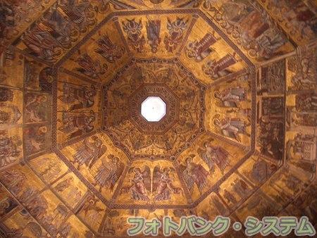 フィレンツェ:サン・ジョヴァンニ洗礼堂天井画