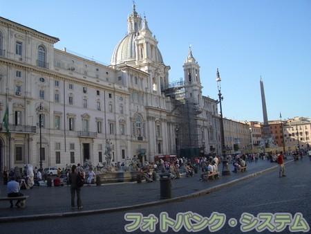 ローマ:ナヴォーナ広場