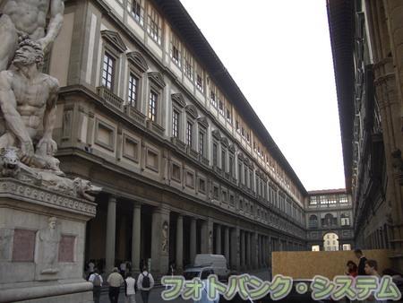 フィレンツェ:ウフィツィ美術館