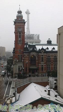 雪の開港記念会館 その1