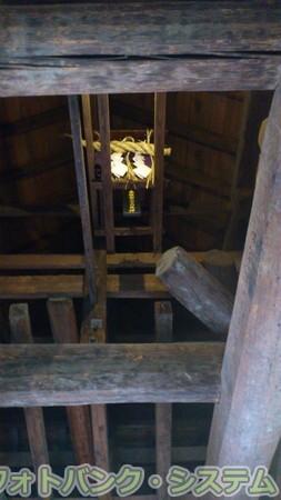松本城 最上階の神棚