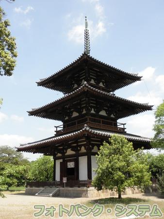 法起寺:三重塔