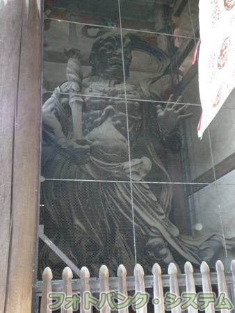 東大寺:南大門金剛力士像(阿形)
