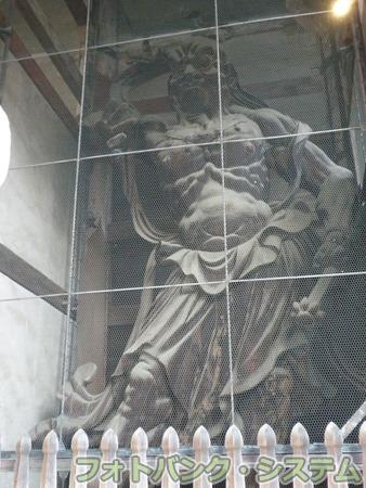 東大寺:南大門金剛力士像(吽形)