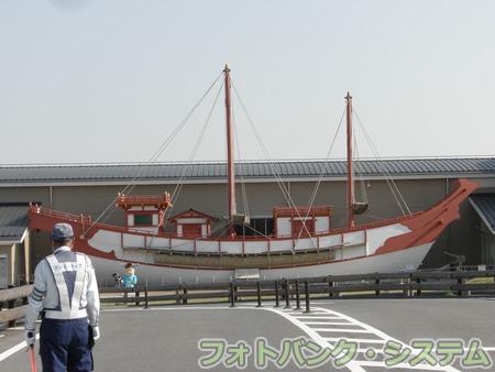 平城宮跡:平城宮歴史館の遣唐使船