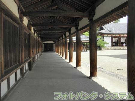 法隆寺:回廊
