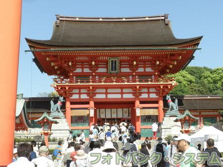 伏見稲荷大社:楼門