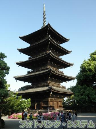 東寺(教王護国寺):五重塔