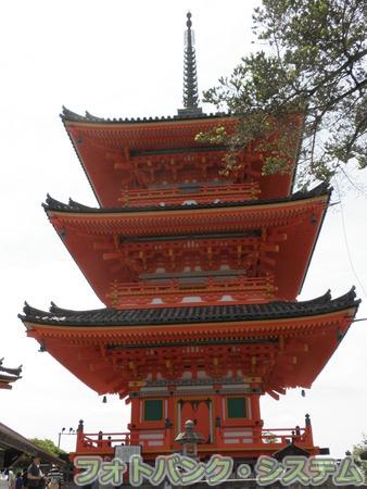 清水寺:三重塔