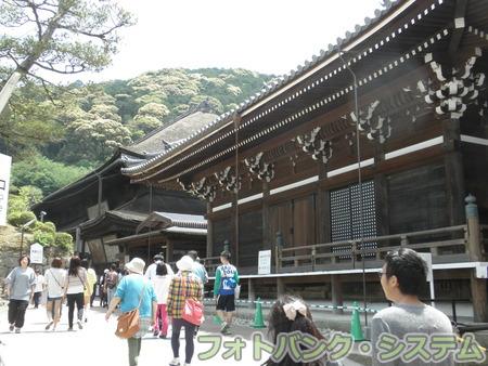 清水寺:朝倉堂と本堂裏