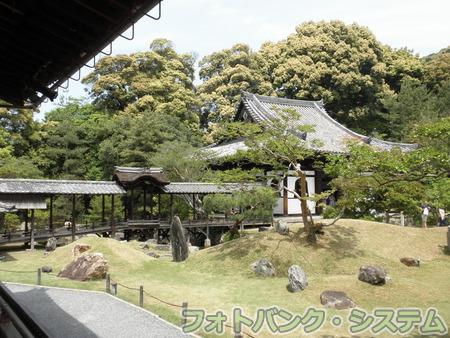 高台寺:開山堂と観月台