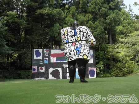 箱根彫刻の森美術館「ミス・ブラック・パワー」