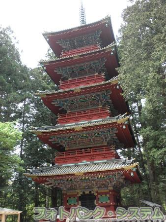 日光東照宮:五重塔