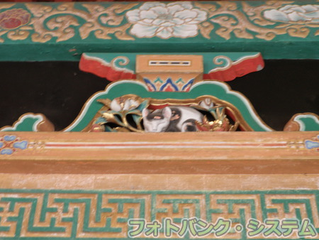 日光東照宮:眠り猫