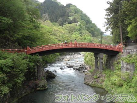 日光:神橋