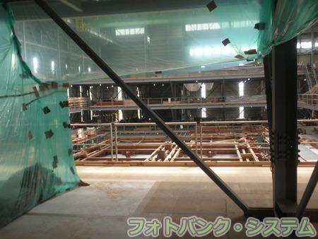 輪王寺:三仏堂修復工事中の模様①