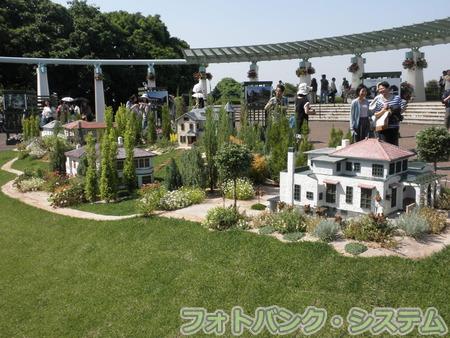 港の見える丘公園-洋館の模型