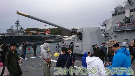 駆逐艦カーティス・ウィルバー―前甲板5インチ砲