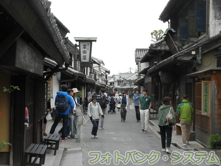 倉敷美観地区―旧家が続く街並