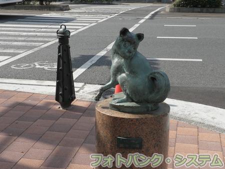 岡山―桃太郎大通り・犬像