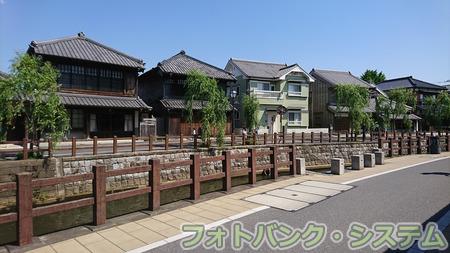 佐原―旧家が並ぶ小野川沿い