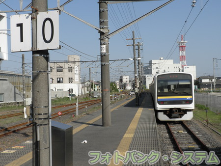 佐原駅0番線