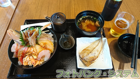 深海丼(沼津港にて)