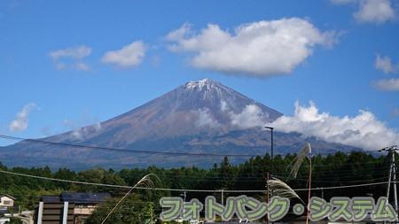秋の富士山―西側から
