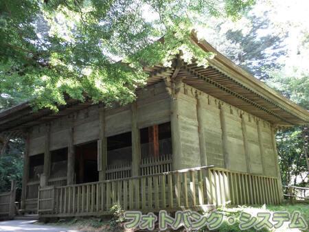 中尊寺―昔の覆堂